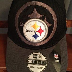 New Era Pittsburgh Steelers Hat Cap NWT L - XL